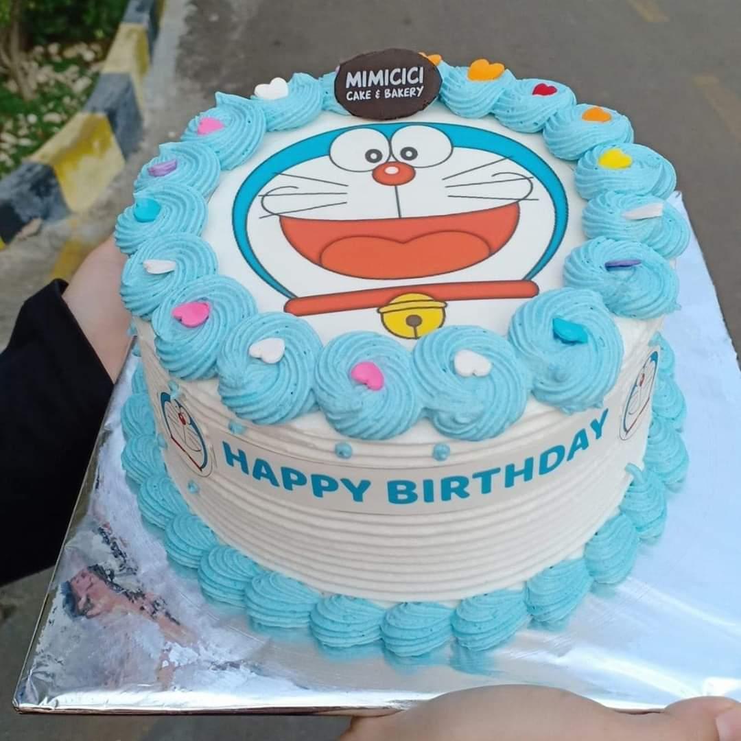 Kue Ultah Dora Emon 1 Kue Ulang Tahun Tajurhalang