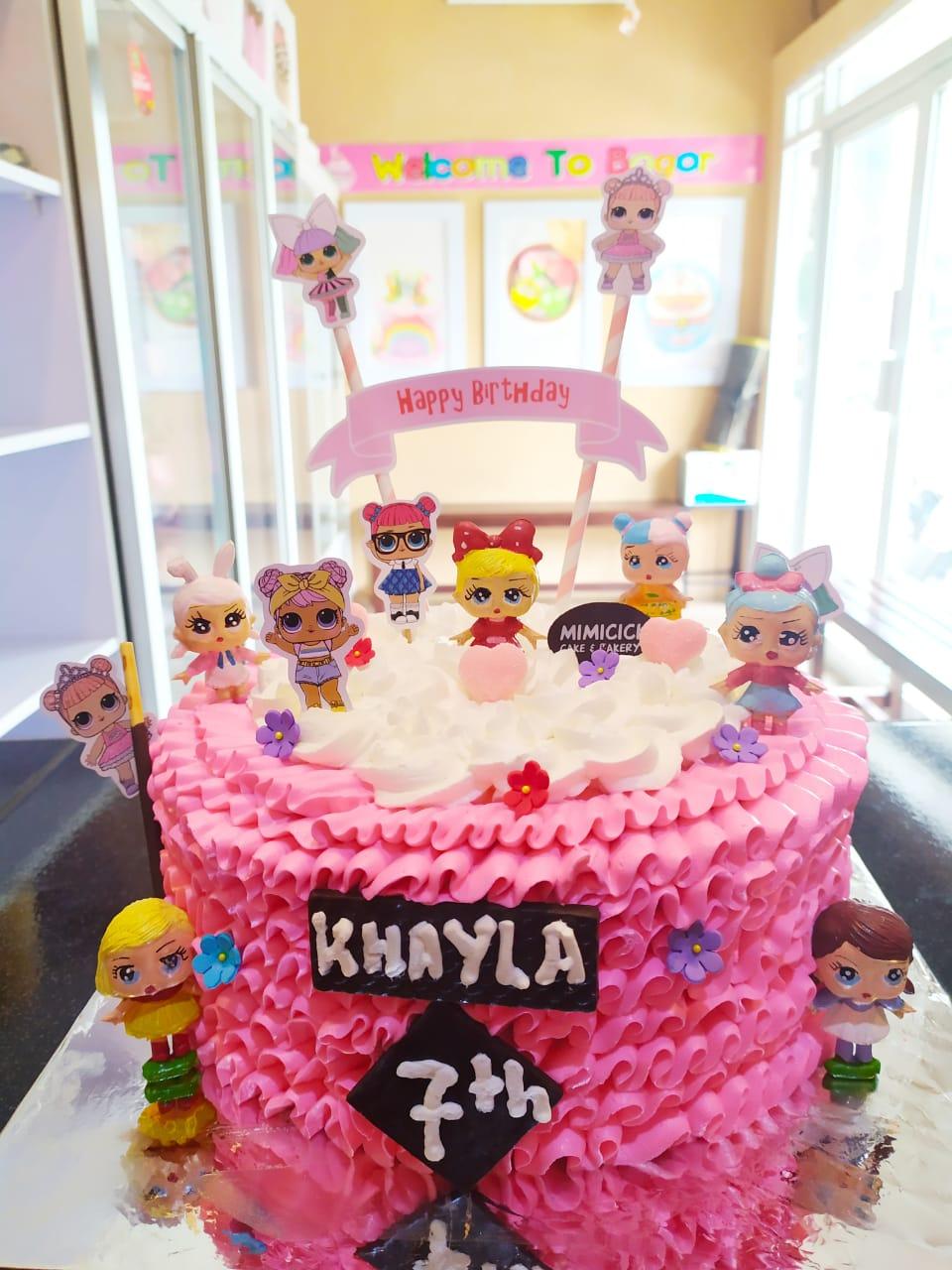Kue Ultah Anak Lol 2 Kue Ulang Tahun Tajurhalang